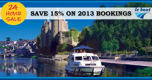 Save 15% on your 2013 Le Boat Holiday